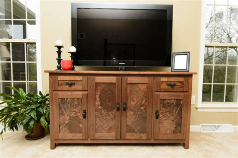 Media Console Cabinet  Traditional  Home Theater
