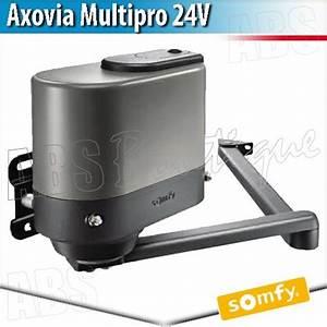 Motorisation De Portail Somfy : axovia multipro somfy bras glissi re bras moteur ~ Dailycaller-alerts.com Idées de Décoration