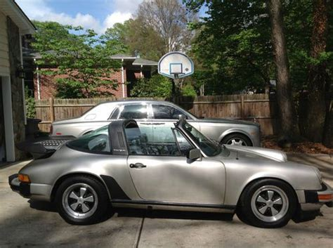 porsche whale tail for sale buy used 1982 porsche 911 sc targa clean carfax oem whale