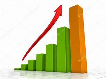 Growth Economic Clipart Croissance Chart Stark Diagramme