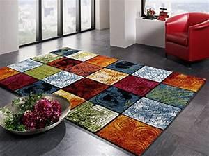 Teppich Bunt Modern : artwork pattern moderner designer teppich bunt in multicolor gre 200x290 cm 0 ~ Frokenaadalensverden.com Haus und Dekorationen