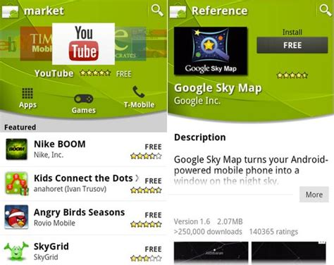 android market app android market app gets updated with new interface