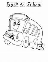 Coloring Pages Bus Printable September Print Preschool Activities Planes Trains Automobiles Sheets Cartoon Sheknows Clipart Station Buses Colouring Worksheets Activity sketch template