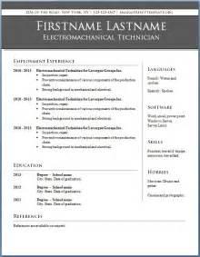 Professional Resume Templates Job Resume Samples