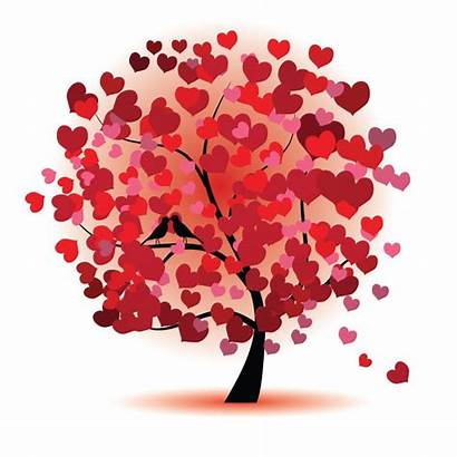 Tree Graphic Vector Abstract Graphics Heart Trees