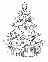 Tree Coloring Christmas Gifts Worksheets Division Grade Math 3rd Multiplication Cnt Mls Mathematics sketch template