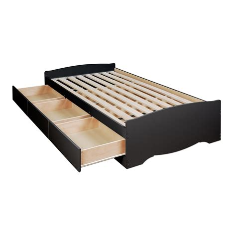amazoncom white twin mates platform storage bed