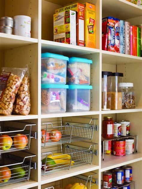 Pantry Storage Ideas by Organize Your Kitchen Pantry Hgtv