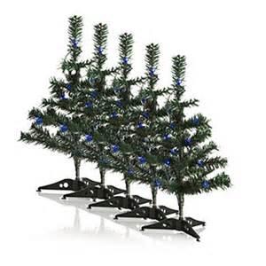 luxform solar powered outdoor christmas tree light 500506 qvcuk com