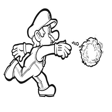 Kleurplaat Mario Draak by Mario Kleurplaten Spelletjes
