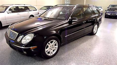 Car was purchased for my wife at phillips. 2004 Mercedes-Benz E320 4dr Wagon 3.2L (#2025) (SOLD) - YouTube