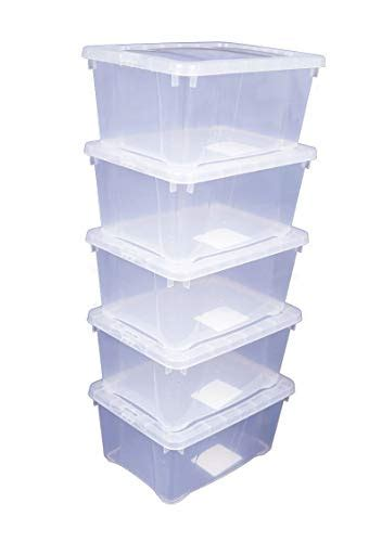 klarsichtbox mit deckel stauboxen k 246 rbe und andere wohnaccessoires spetebo kaufen bei m 246 bel garten