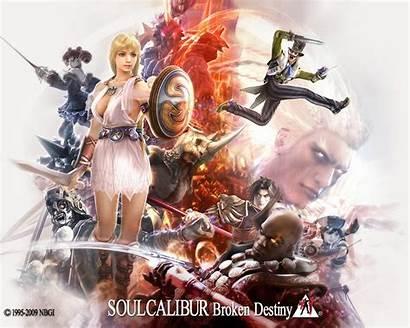 Calibur Soul Broken Destiny Soulcalibur Amy Anime