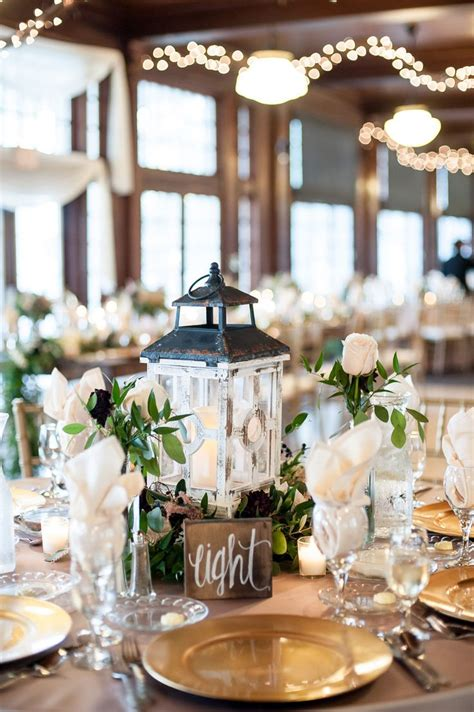 rustic lantern centerpieces ideas  pinterest