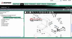 Mitsubishi Forklift Trucks 2011 Parts Catalog   Service