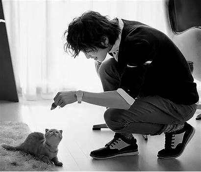 Asian Boy Japan Ladyboy Gifs Cat Sweet