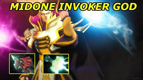 midone invoker god dota 2 gameplay highlights montage and pro plays youtube