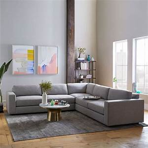 West elm new year sale save on sofas marble coffee for West elm urban sofa sectional