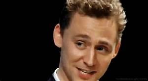 Tom Hiddleston, That smile. That perfection.
