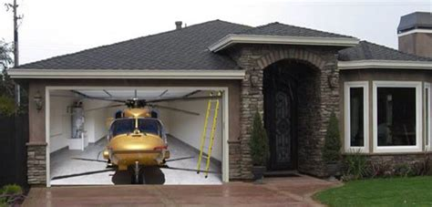 Creative Garage Doors Saskatoon by Helicopter Garage Door In 2019 Garage Doors Garage