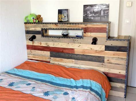 tte de lit palettes fabriquer une tete de lit en palette