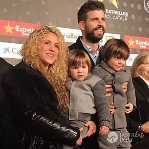 Shakira i Gerard Pique razem z dziećmi na gali w Katalonii ...