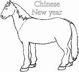 Chinese Coloring Horse Printable Pages Wooden Azcoloring Credit Larger Colouring Popular sketch template