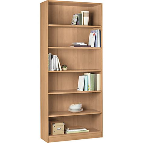 Image For Maine Tall And Wide Extra Deep Bookcase Beech