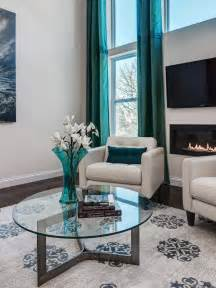 teal livingroom photos hgtv