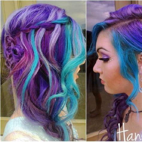 25 Best Ideas About Multicolored Hair On Pinterest