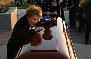 Nancy Reagan buried next to former president husband near ...