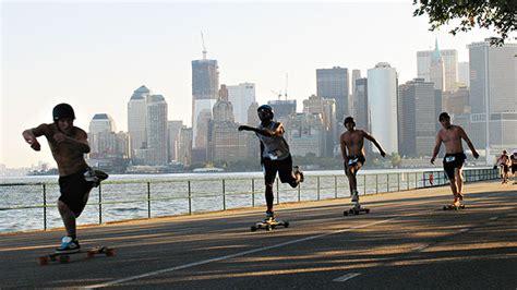 jeff vyain wins  york skateboard marathon espn