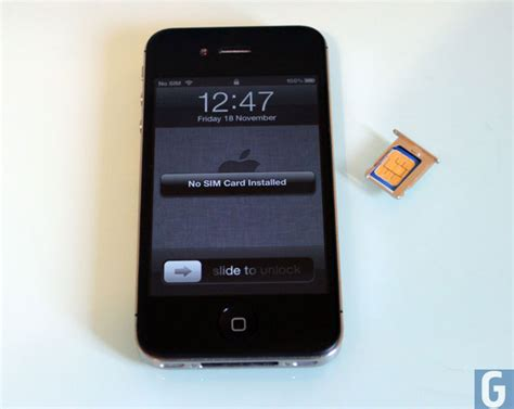 iphone  owners reporting sim card problems