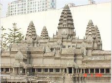 Large Models Angkor Wat, Taj Mughal, Twin Towers
