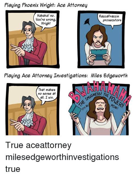 Phoenix Wright Meme - ace attorney memes attorney best of the best memes