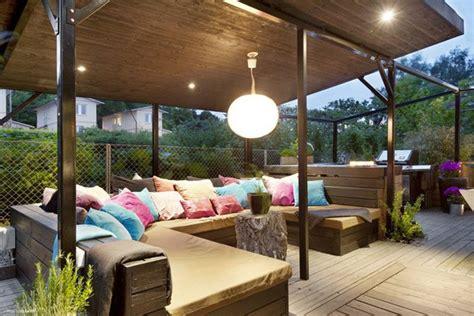 canape exterieur resine tressee décoration extérieur pour balcon et véranda en 62 idées