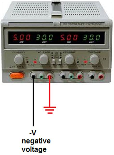 How Obtain Negative Voltage From Power Supply
