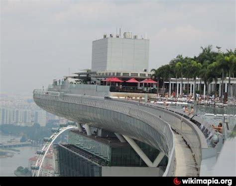 Marina Bay Sands Top Observation Deck Singapore