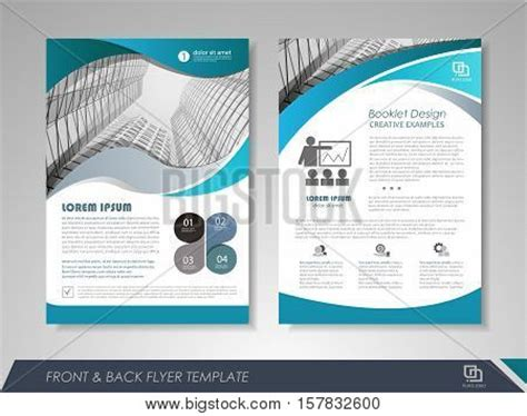 Modern Blue Brochure Design Vector Photo Bigstock Brochures Layout Modern Blue Brochure Design Vector Photo