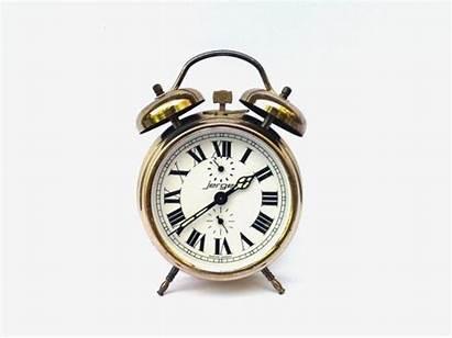 Clock Alarm Jerger Western Place Germany Handmade