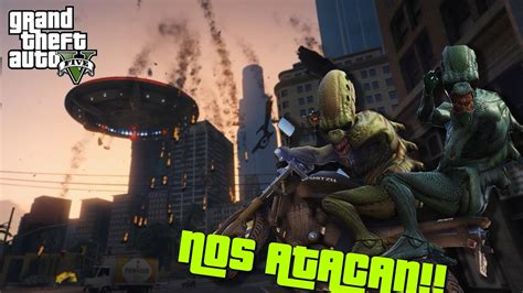 Nueva InvasiÓn Alienigena En Gta V