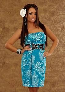 robe mi longue bustier femme bleu turquoise avec motifs With déco chambre bébé pas cher avec kimono femme fleur