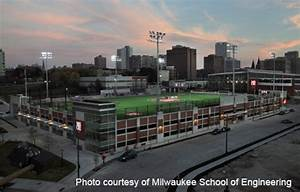 msoe upgrades to led stadium lighting from cree cree With outdoor lighting construction company milwaukee wi