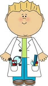 Boy Scientist Clip Art