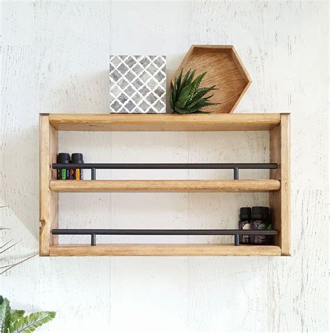 Floating Spice Rack by Best 25 Wall Mounted Spice Rack Ideas On How
