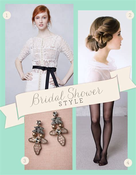 What Do I Wear To A Bridal Shower by Style What To Wear To Your Bridal Shower Oh What
