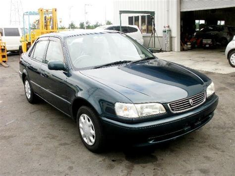 Japanese Used Toyota Corolla Xe Saloon 1999 Cars For Sale