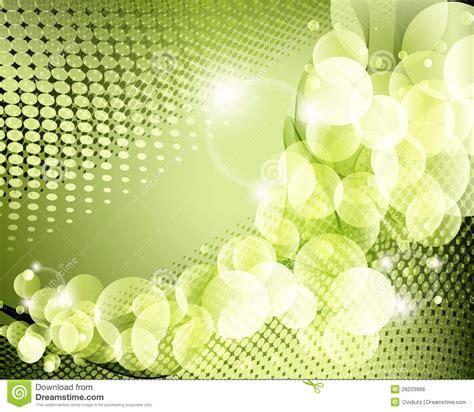 Elegant Green Background Poster Royalty Free Stock Image