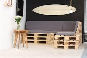 tuto un canape dangle en palettes With canapé d angle en palette de bois