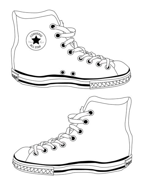 shoe template converse shoes template by reinvigorate on deviantart